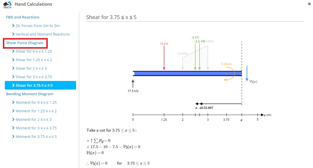 Hand Calculations Skyciv Documentation