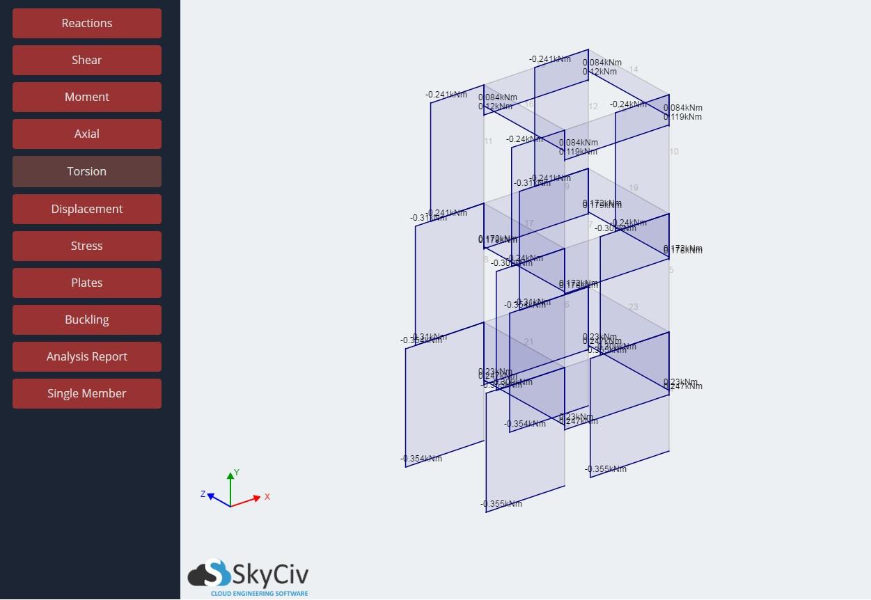 Torsion | SkyCiv Documentation
