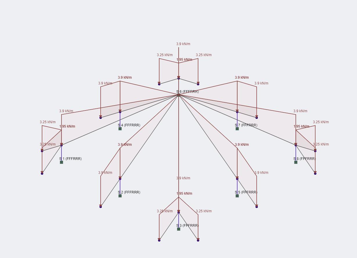 skyciv nuage structural analysis software  u2013 cadre de toit