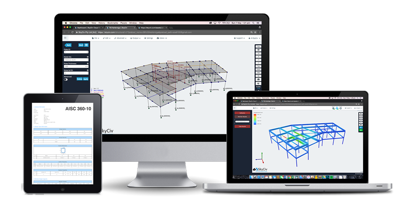 Cloud Structural Design and Analysis Software