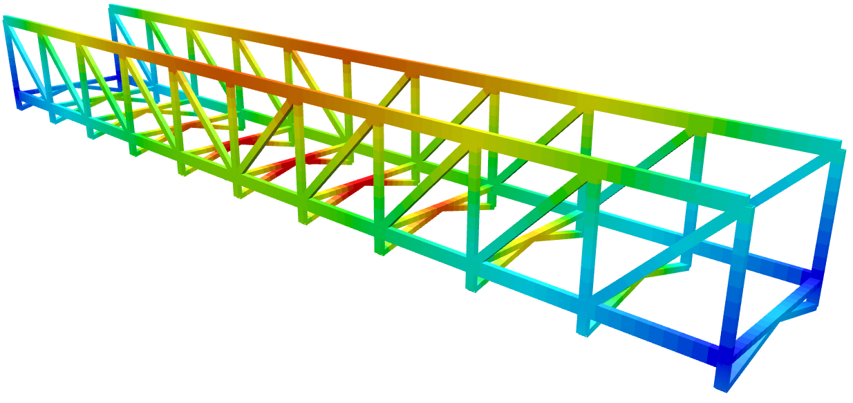 3d structural analysis software in use