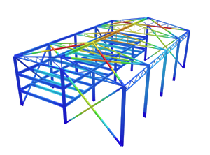Structural Analysis Software free signup widget. SkyCiv Structural Design Software.