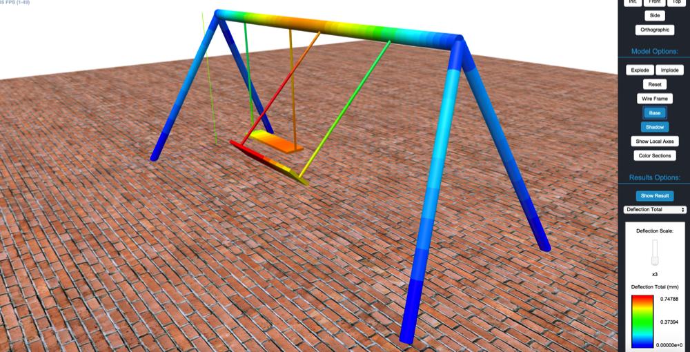 SkyCiv_swingset_design