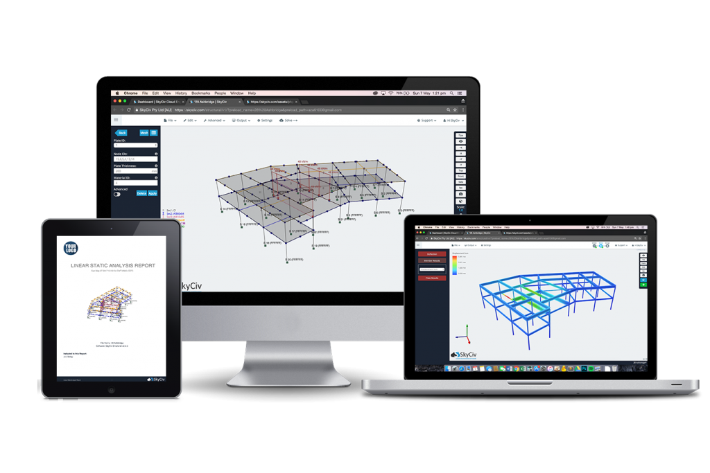 Frame-3-Devices for structural design software