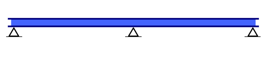 Image showing an example of a continuous Beam type