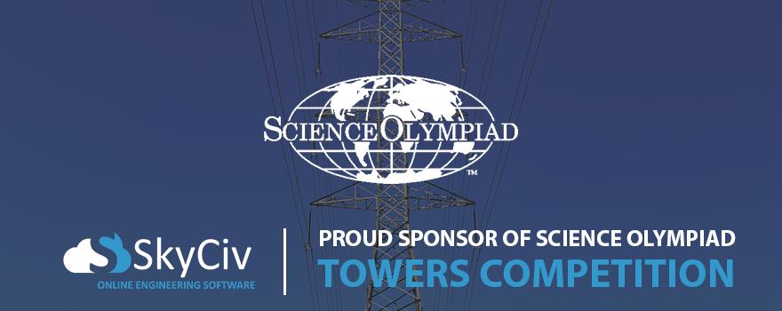 Science olympiad sponsor SkyCiv