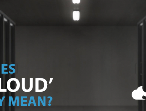"What Does the ""Cloud"" Actually Mean?"