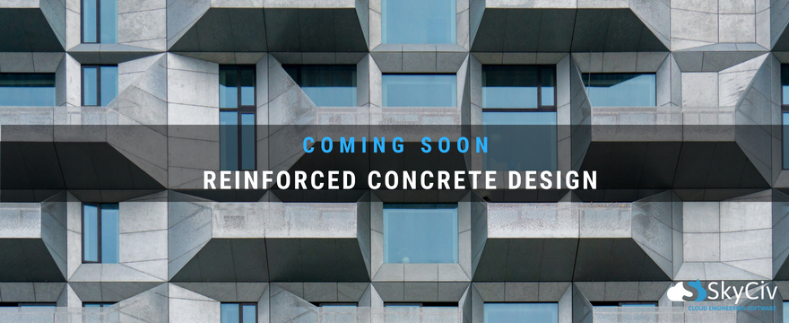 reinforced concrete design coming soon