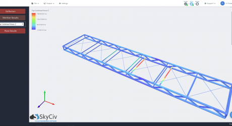 Truss-base Render Results