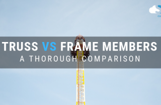 difference between truss and frame