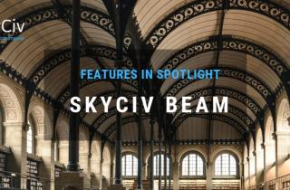 Skyciv Beam Features