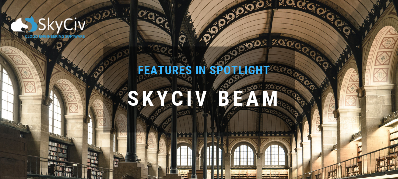 Skyciv Beam Features