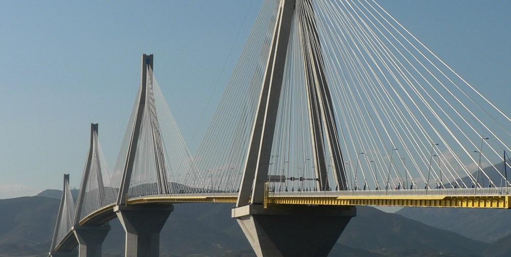 inspiring bridge designs by SkyCiv - patras bridge