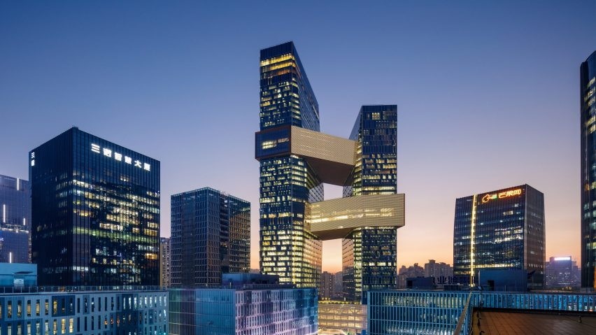 inspiring building designs by SkyCiv - Tencent HQ