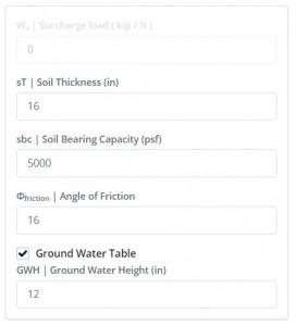 Soil Configurations