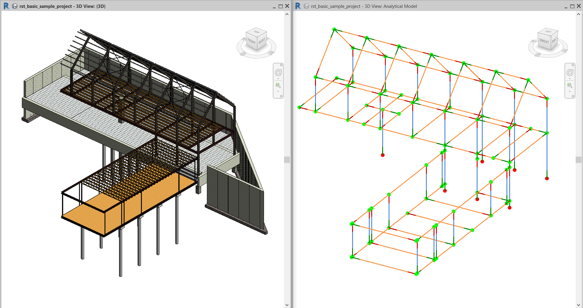 Importing a Revit Model | SkyCiv Cloud Structural Analysis Software