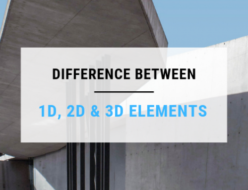 Comparison Between 1D, 2D and 3D elements in Structural Analysis