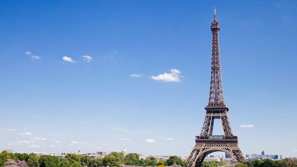 interesting truss structure - Eiffel Tower
