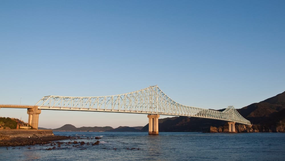 interesting truss structure - Ikitsuki Bridge