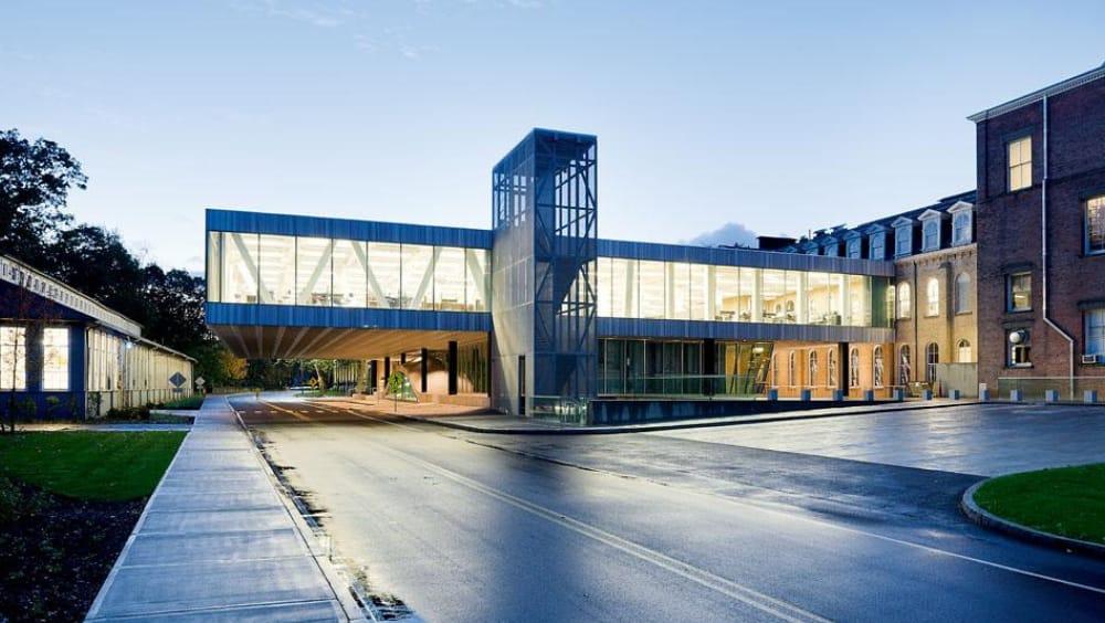 interesting truss structure - ilstein Hall, Cornell University