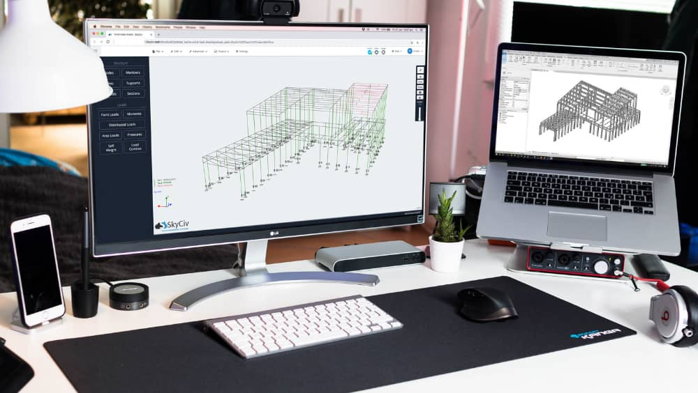 Structural-Analysis-Design-Cloud-AISC-360-Software-easy-modelling