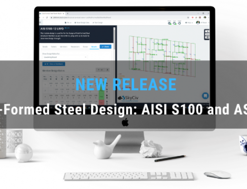 SkyCiv Releases Cold-Formed Steel Design; AISI S100 and AS4600
