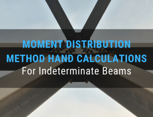 Moment Distribution Method Hand Calculations for Indeterminate Beams