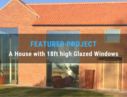 Featured Project: How Struct-Sure Limited Designed a House with 18ft high Glazed Windows