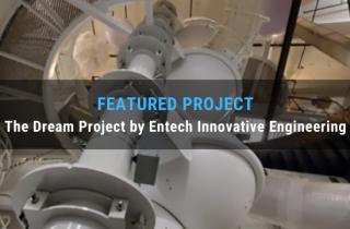 SkyCiv Featured Project, Dream Project, Entech Innovation
