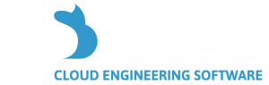 The logo of SkyCiv - the Cloud Structural Analysis Software