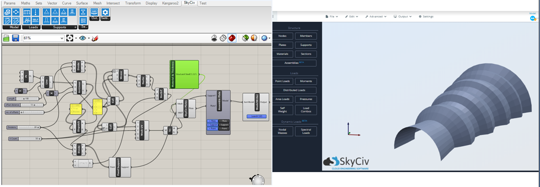 SkyCiv Grashopper Plugin