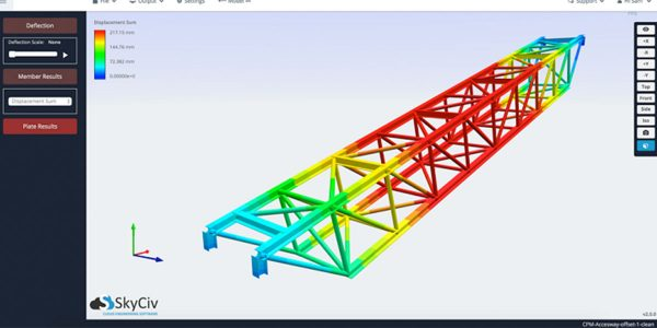 SkyCiv Structural 3D Analysis Software FEA Analysis
