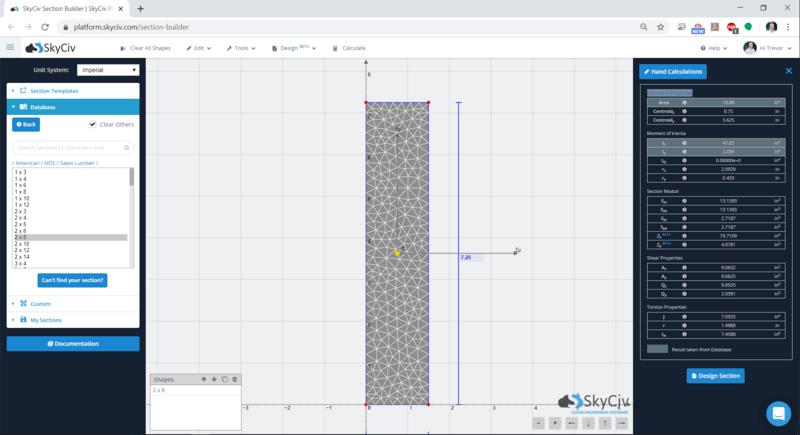 SkyCiv Wood analysis