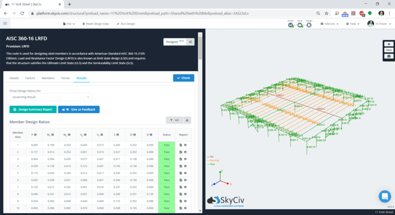 SkyCiv Integrated Design Software