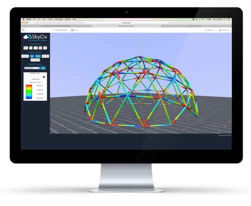 SkyCiv Software for Strucutral Engineers Dome Design