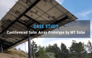 Case Study: Cantilevered Solar Array Prototype by MT Solar