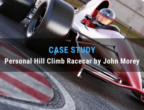 Case Study: Personal Hill Climb Racecar by John Morey