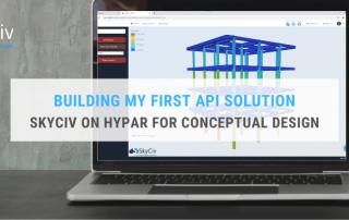Building My First API Solution – SkyCiv on Hypar for Conceptual Design