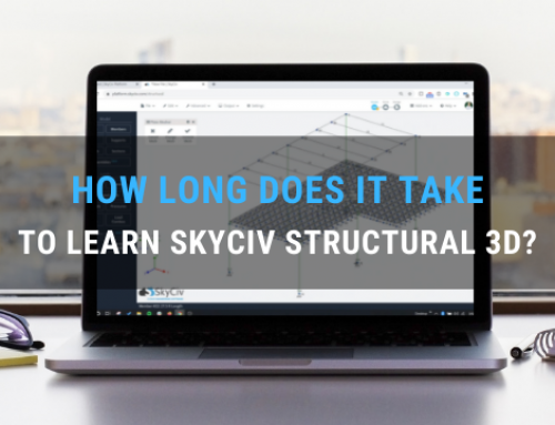 How long does it take to learn SkyCiv Structural 3D? (with stats)