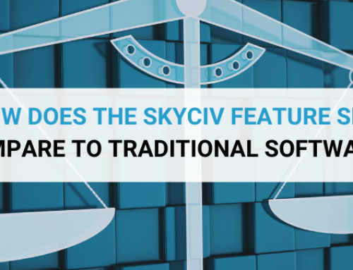 How does the SkyCiv Feature Set Compare to Traditional software?