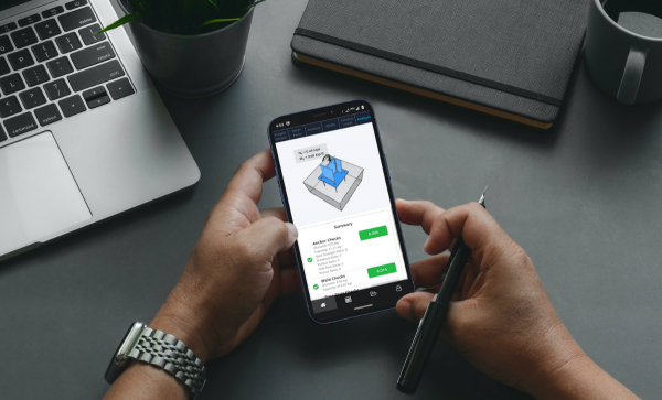 Skyciv Base Plate Mobile App
